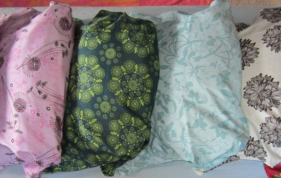 Organic Millet Hull Pillows in Lots of Great Colors!