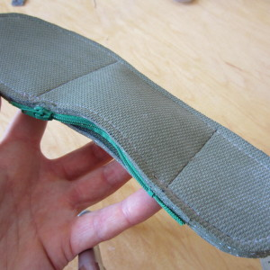 A look at my all natural, comfortable orthotics after filling.