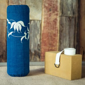 The Lanna Roller is the natural wooden body roller version of foam rollers.