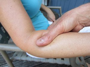 Self massage for Carpal Tunnel, wrist pain, tennis elbow or shoulder pain.