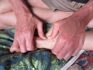 Learn how to release your foot cramps!