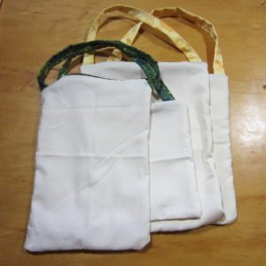 Organic clothe food bags for produce and bulk foods!