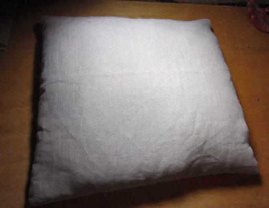 pillow with arm hole. pillow with arm hole