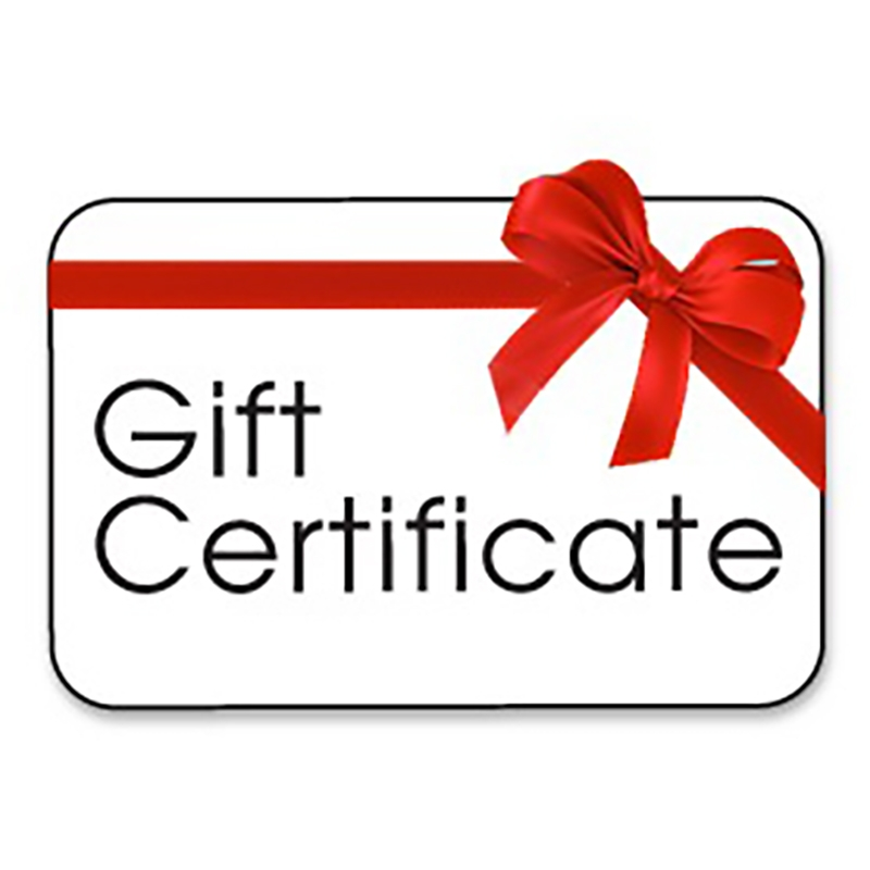Gift Certificates Bretts Natural Health